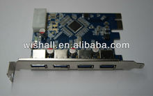 4 USB3.0 Port USB 3.0 PCIE PCI-E x1 Card