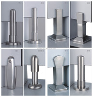 stainless steel 304 toilet cubicle leg