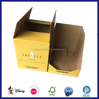 Corrugated Carton paper donut packaging box