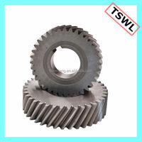 Plans to sample processing custom spiral gear motor gear
