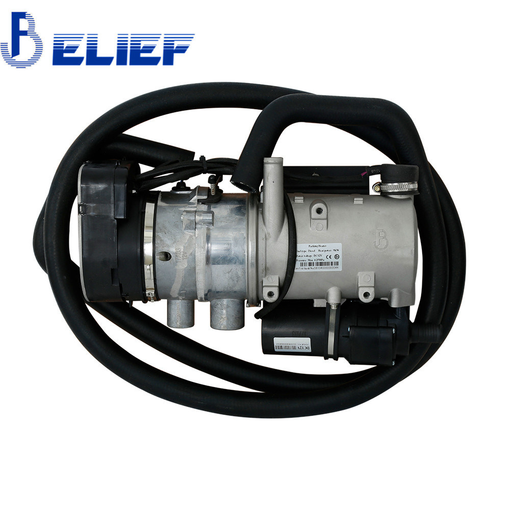 Belief High Power 9KW 12V Diesel Water Heater or Cargo Truck Heater Coolant Engine Preheater Similar to Webasto