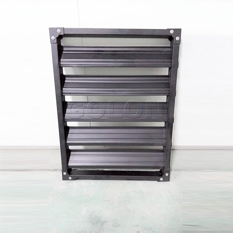 Exterior adjustable aluminum sliding window shutters buy - Aluminum window shutters exterior ...