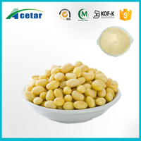 High Quality Pure Soybean Extract Women Health 40% Isoflavones Soybean Powder Extract