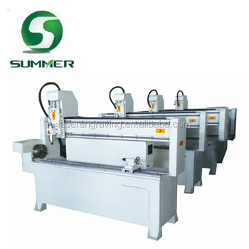 Jinan Factory Detailed Sell Cheap Wood Stair Cnc Router Machine