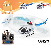 V931 WL Toys Newest Design 2.4G Best RC Helicopter 6CH Brushless RC Helicopter