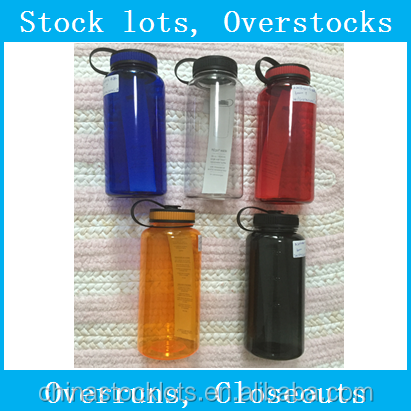 Stock leftover ready water sport bottle for sale liquidation