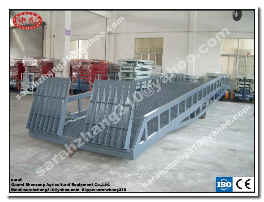 Hydraulic Mobile Ramp/Container Ramp For Forklift