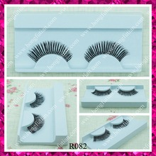 Custom lashes packaging human hair red cherry hand made eyelashes