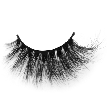 Fashion handmade natural 3d mink lashes and custom package with private