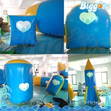 Cheap Inflatable Different Shapes Air Bunkers Paintball For Rental