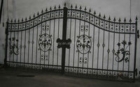 Cast iron gate models/front gate designs