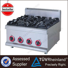 Stainless Steel Wholesale price Gas or Electric Table top cooking range