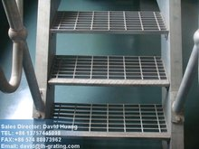 galvanized outdoor steel stair tread