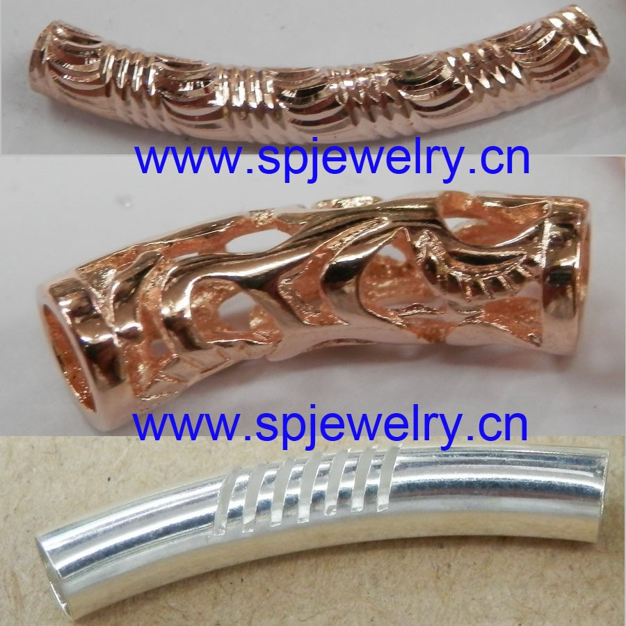 jewelry metal tubes