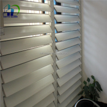 Aluminum profile frame jalousie windows tempered louver glass