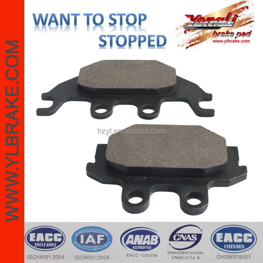 YL-F161 Low wear rate ATV /UTV Brake Pads For ADLY-Crossroad 220 Sentinal Quad/Canyon 280 Quad Canyon 300 Quad ATV Parts