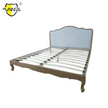 BBU16707 Best Price Unique wooden leg carved king size solid wood bed frame