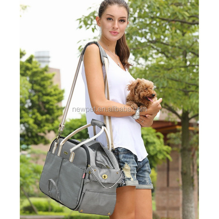 Good reputation best sell pet dog messenger bag top grade packing pet bag bike for cat