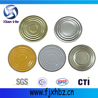 603D 153mm metal packaging of cans lids with color