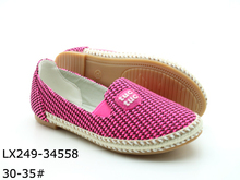 Of pictures leather girl's new model casual shoes