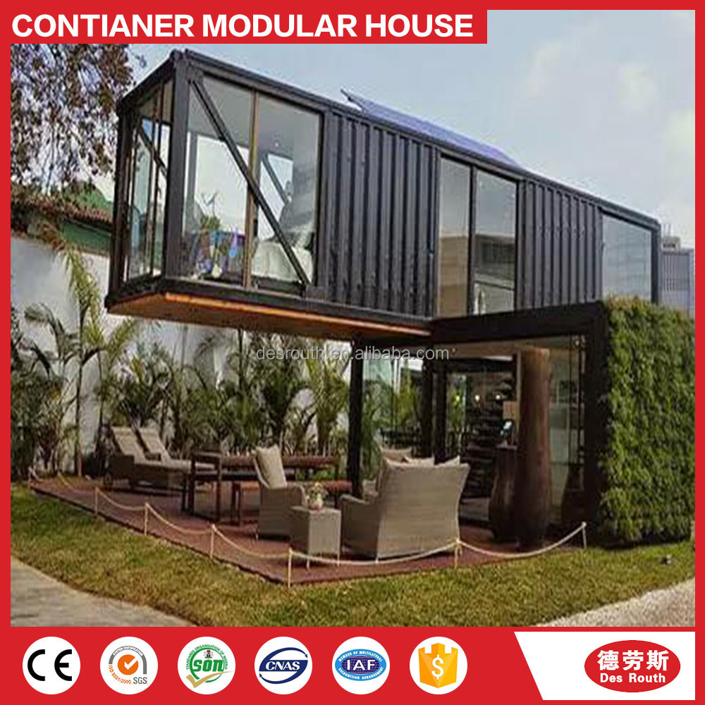 container homes 40ft luxury villa / container home kits