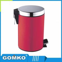 outdoor stainless steel metal ash bin/rubbish bin/waste bin