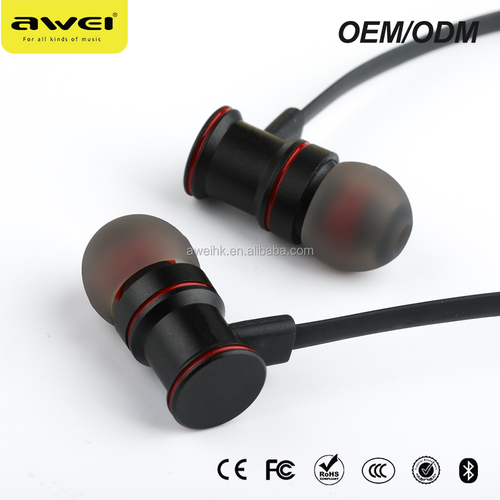 Professional manufacturers with volume control sporting bluetooth earphone