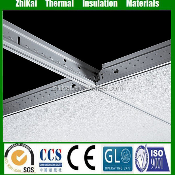 Exposed grid ceiling system, ceiling grid components, suspended ceiling accessories