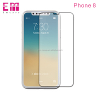 Adhesive tempered glass screen protector/High quality phone accessory mobile phone protective film for iphone X