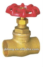 J4001 with cast iron handle Forged Brass Glove Valve, Brass Stop Valve