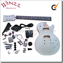[WINZZ] High Quality LP Style DIY electric guitar kits (EGR200A-W1)