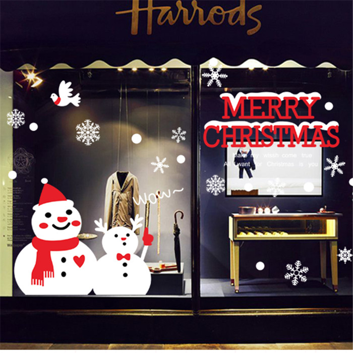 Stick on christmas decorations for windows : Popular designs christmas window clings buy
