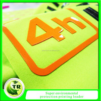 high quality custom private 3D silicone label for clothing