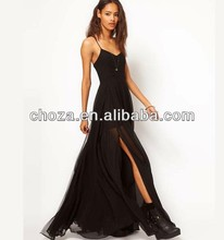 C51583S WHOLESALE NEW FASHION SEXY LADIES BACKLESS MAXI DRESS