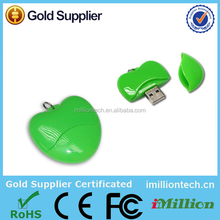 apple shaped usb flash drive,apple shape usb drive,apple shape usb