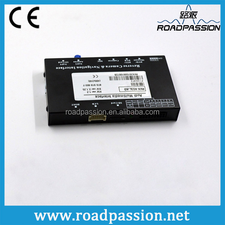 Parking guidelines bluetooth GPS interface for Audi A6 navigation