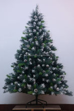 Special antique luxury decoration 100% pe christmas tree