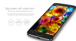 "5.5"" DOOGEE Y200 Quad Core MTK6735 Android 5.1os support wifi gps bluetooth 16gb rom +2gb ram phone"