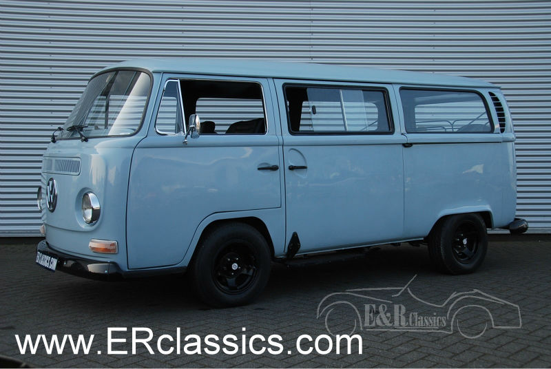 VW T2A van 1971 original RHD restored