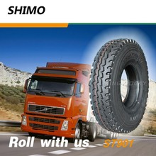 ST901 guangzhou manufacturers truck tyre prices 9.00R20