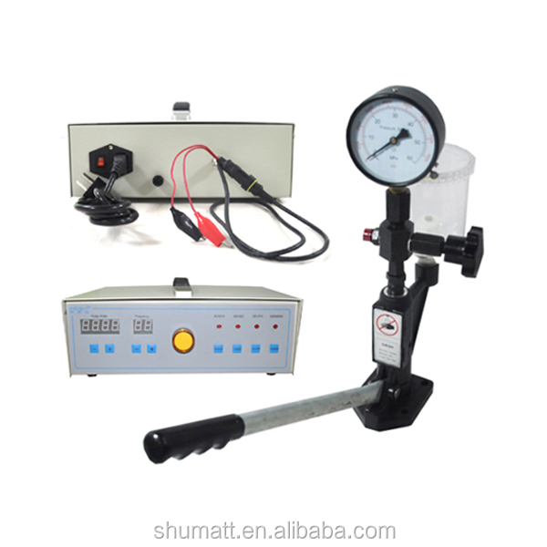 Common rail simulator diesel injector nozzle tester with Diesel Injector Nozzle Tester / Pop Pressure Tester