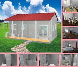 china cheap prefabricated mobile villa home house
