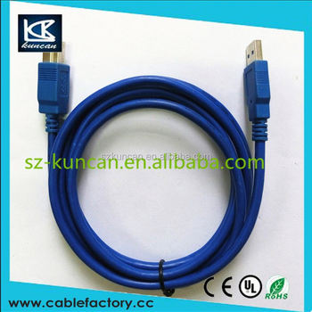 2015 New Design Super Speed 10 GBS USB 3.1 Type C Male to USB 3.0 A Female OTG Data Cable for Mobile Phone