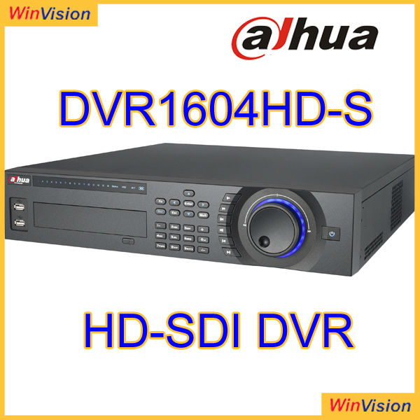 Embedded LINUX Operating System Dahua DVR1604HD-S Digital Video Recorder