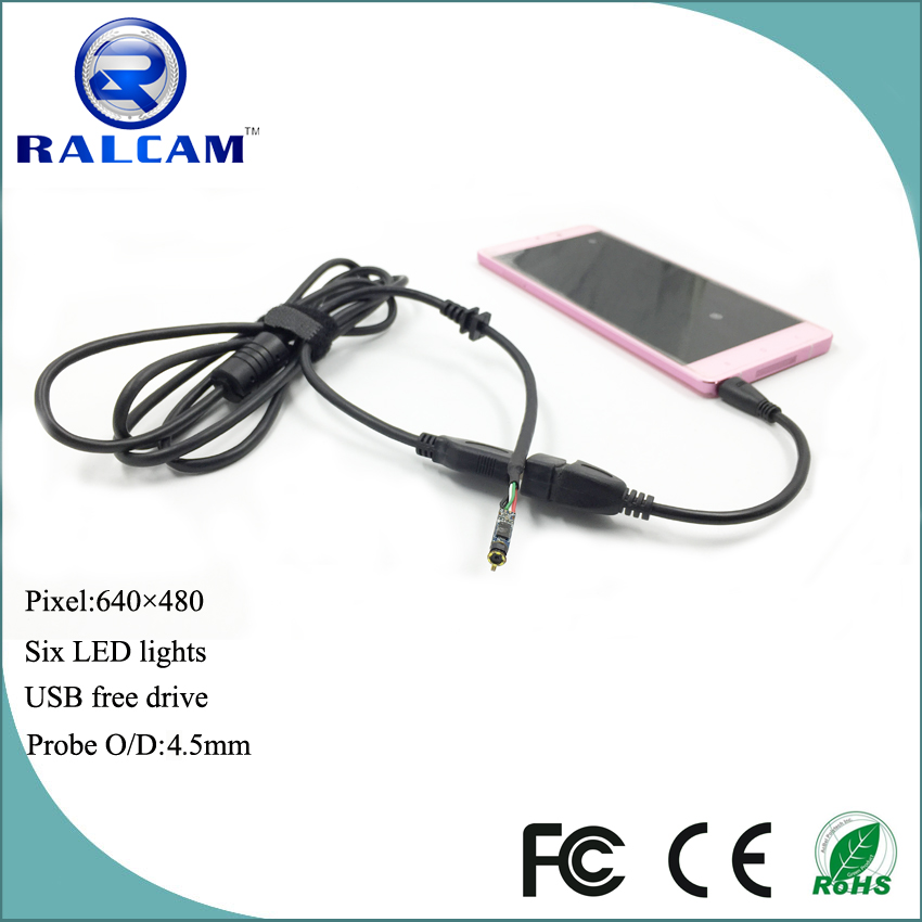 Factory supply micro usb endoscope camera module compatible with most brands android smartphone supporting otg