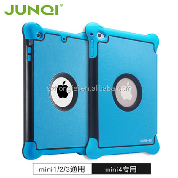 "Promotion price washable e 7.9"" leather case for iPadmini, folding protecitve case for iPad air/air2"