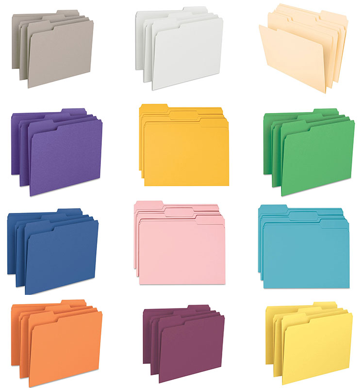 Colorful Manila Expanding A4 Designs Handmade A4 Paper Cardboard File Folder