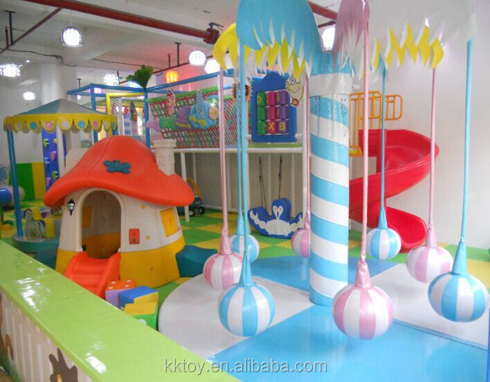 indoor soft play equipment of ocean theme newest design castle for kids