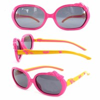 Promotional high quality children tr 90 cheap brand name sunglasses