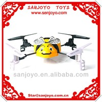 X1 2.4G 4CH RC Flying BumbleBee Ultra Micro Bee QuadCopter With 360 Degree Eversion Gyro rc helicopter